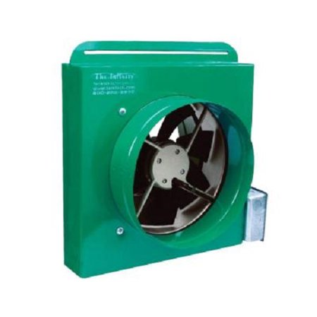 Tamarack 1100 Cfm Ducted Whole House Fan With Make Up Air Kit
