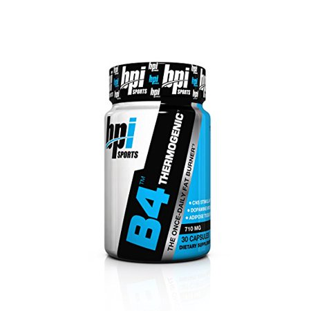 BPI Sports B4 The Once-Daily Fat Burner, 30 Count (Bpi Sports B4 Pre Training Fat Burner Review)