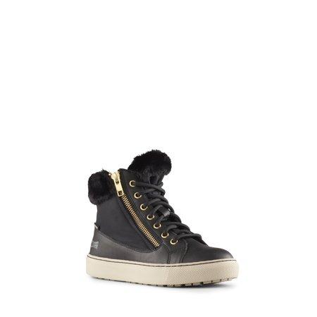 Cougar Girls' Dublin-G Ankle High Sneaker in Black - image 4 de 5