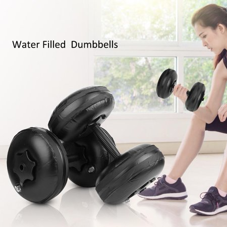 spptty adjustable dumbbellwoman fitness portable water