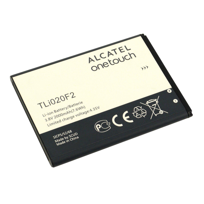 Original Alcatel TLi020F2 2000mAh for Alcatel One Touch Fierce II Elevate Pop Astro Pop Icon Non-Retail Packaging