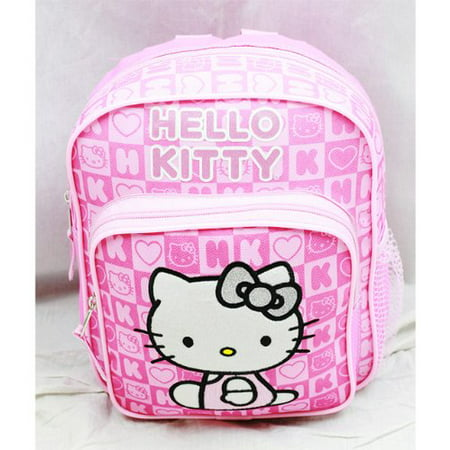Mini Backpack - - Pink Box Checker New School Bag Book Girls 82350
