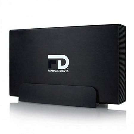 Fantom Drives 4TB GForce3 USB 3.0/eSATA Aluminum External Hard Drive for Mac and
