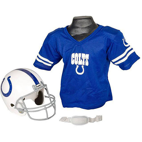 Franklin Sports NFL Indianapolis Colts Youth Helmet and Jersey Set Costume