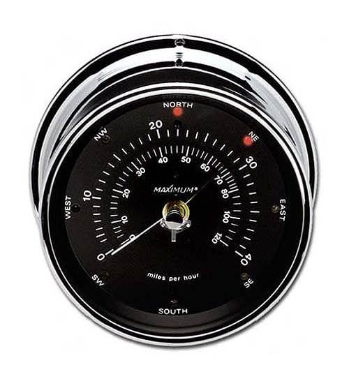 Maestro 2S Wind & Speed Monitor, Chrome