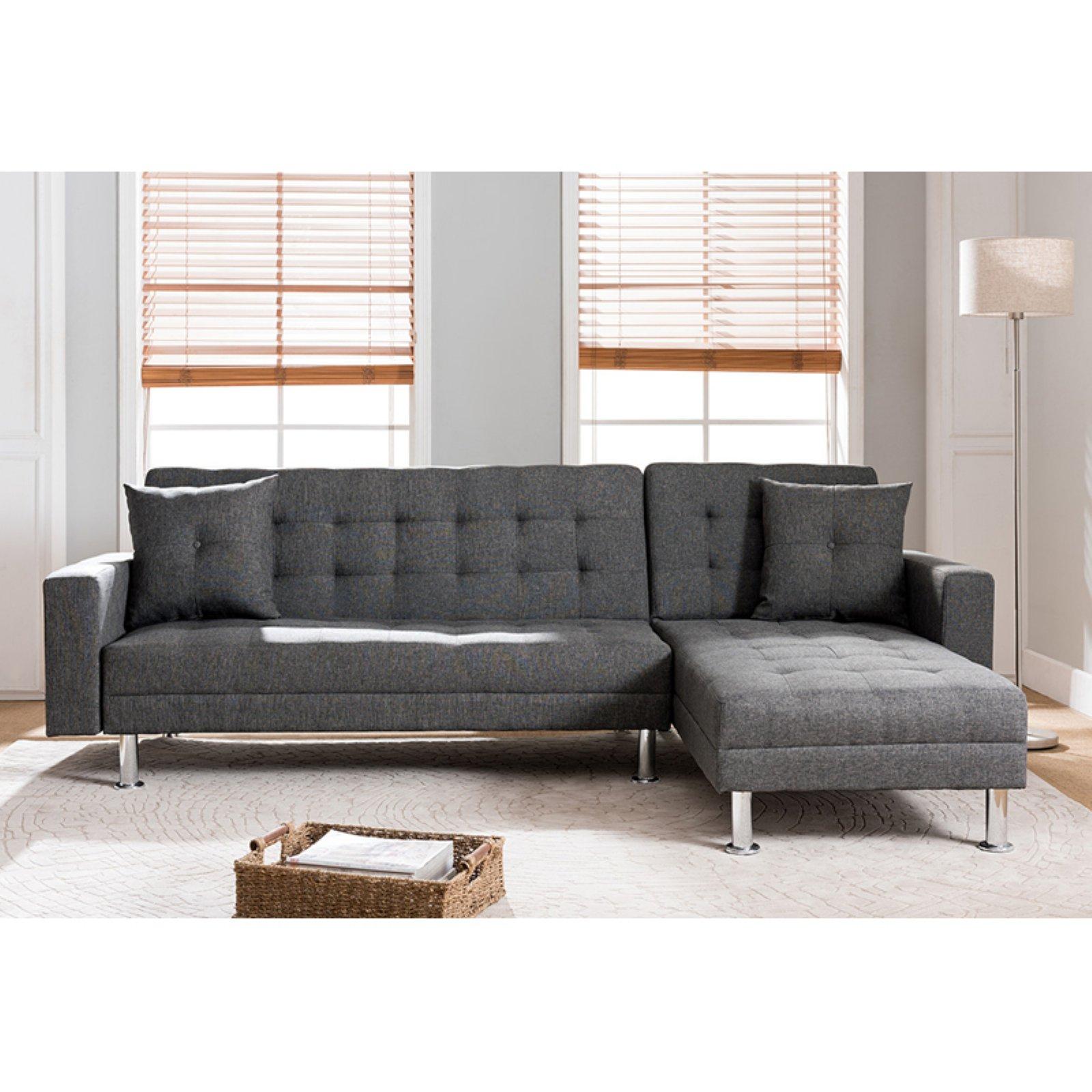 Milton Greens Stars Jett Reversible Chaise Sofa Bed Sectional