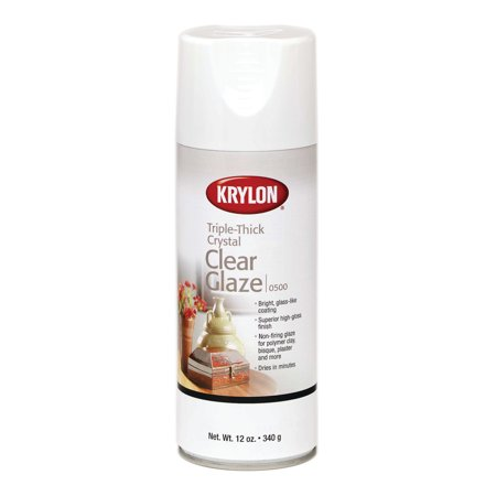 Krylon Crystal Clear Glaze, 12 oz. Faux Painting Glaze