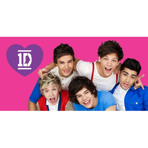 One Direction Microfiber Body Pillow