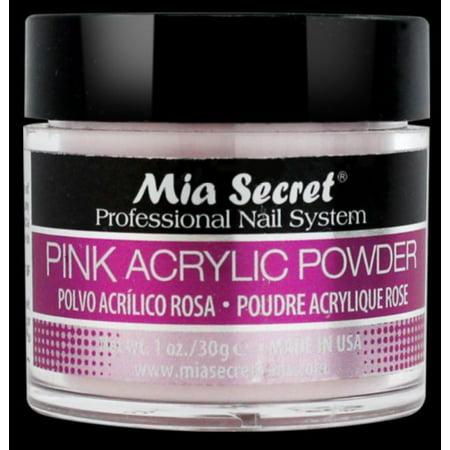 LWS LA Wholesale Store  MIA SECRET PINK ACRYLIC POWDER PROFESSIONAL NAIL SYSTEM (1 oz Pink Acrylic Powder) - Punk Wholesale
