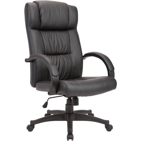 Image of AC Pacific Adjustable Swivel Office Chair Powder Coated, Black