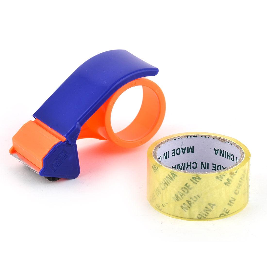 Stationary Desk Roll Holder Sealing Packing Packaging Tape Cutter Dispenser Set