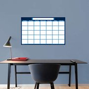 D3 Casemate Dry Erase Board Calendar Type Blue