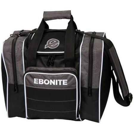 Ebonite Impact Plus Single Bowling Bag Smoke