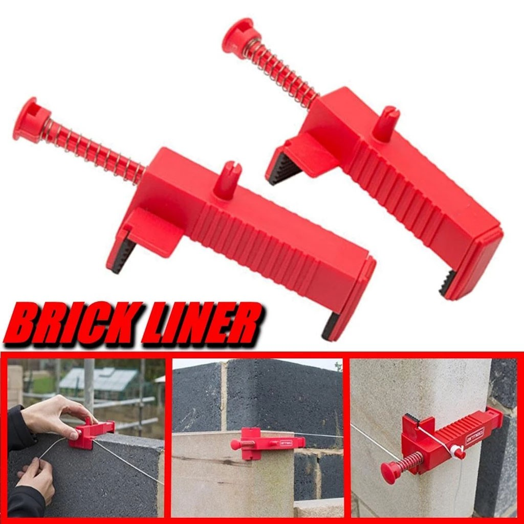Brick Liner Runner Wire Drawer Bricklaying Tool Fixer for Building Construction