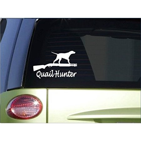 Quail Hunter sticker *H159* 8