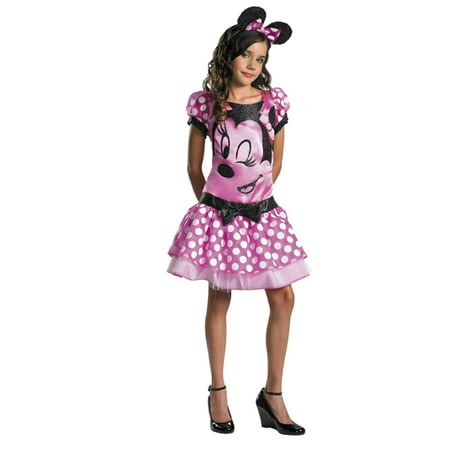Disney Halloween Treat Vhs (Disney Girls Minnie Mouse Halloween Costume Disguise Large)