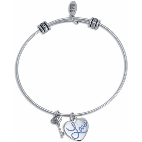 4ad36fe98 ... australia connections from hallmark stainless steel love multi charm  bangle 8c6cc 29e48 ...
