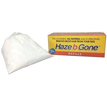 Miracle Sealants Haze B Gone Glove-Pouch Removes Grout Haze of Tiles - Coverage 1000 SqFt (Best Way To Remove Tile Grout)