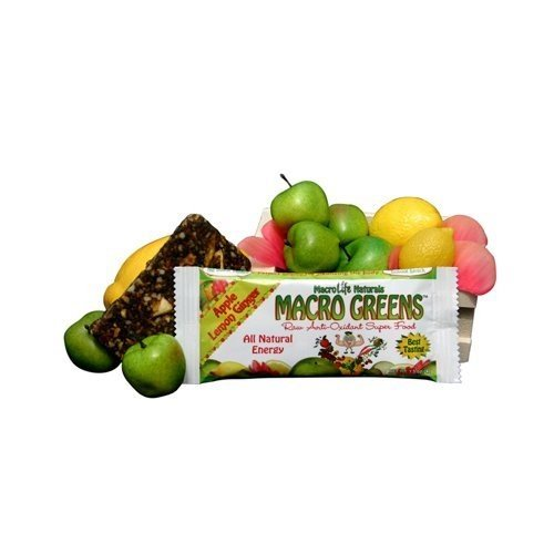 MacroLife Naturals MacroLife Naturals Macro Greens Nutrient-Rich Superfood Bar, 1.5 oz