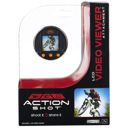 Video Viewer Attachment, Click and Grip attachment to the Action Shot Camera By Action