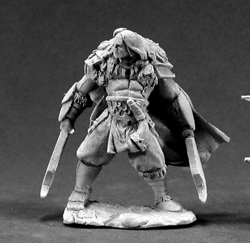 Kjell Bloodbear Barbarian Miniature 25mm Heroic Scale Dark Heaven Legends Reaper Miniatures