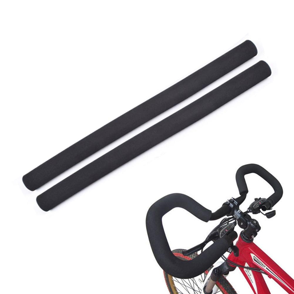 2pieces Bike Cycling Handlebar Foam Sponge Grip Cover Comfort Shock Absorbing