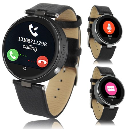 Indigi® H365 HD Touch Screen Bluetooth-Sync iOS and Android Compatible SmartWatch & Phone w/ Heart Rate Sensor +