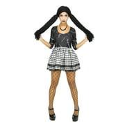 Broken Doll Costume Women Dead Doll Dress for Halloween Cosplay