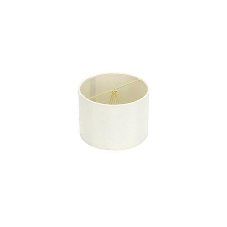 5 Inch Retro Barrel Drum Clip on Chandelier Lampshade (Eggshell)