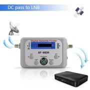 Bonrich SF-95DR TV Receiver Decoder Digital Satellite Finder Signal Meters Support OEM And ODM Batteries not included(Random Color)