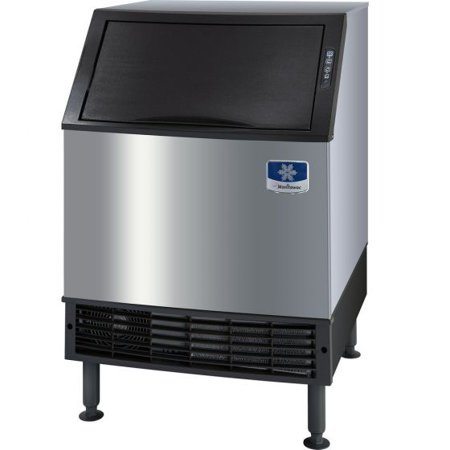 Clean Manitowoc Ice Machine - Manitowoc NEO UD-0190A Air Cooled 198 Lb Dice Cube Undercounter Ice Machine