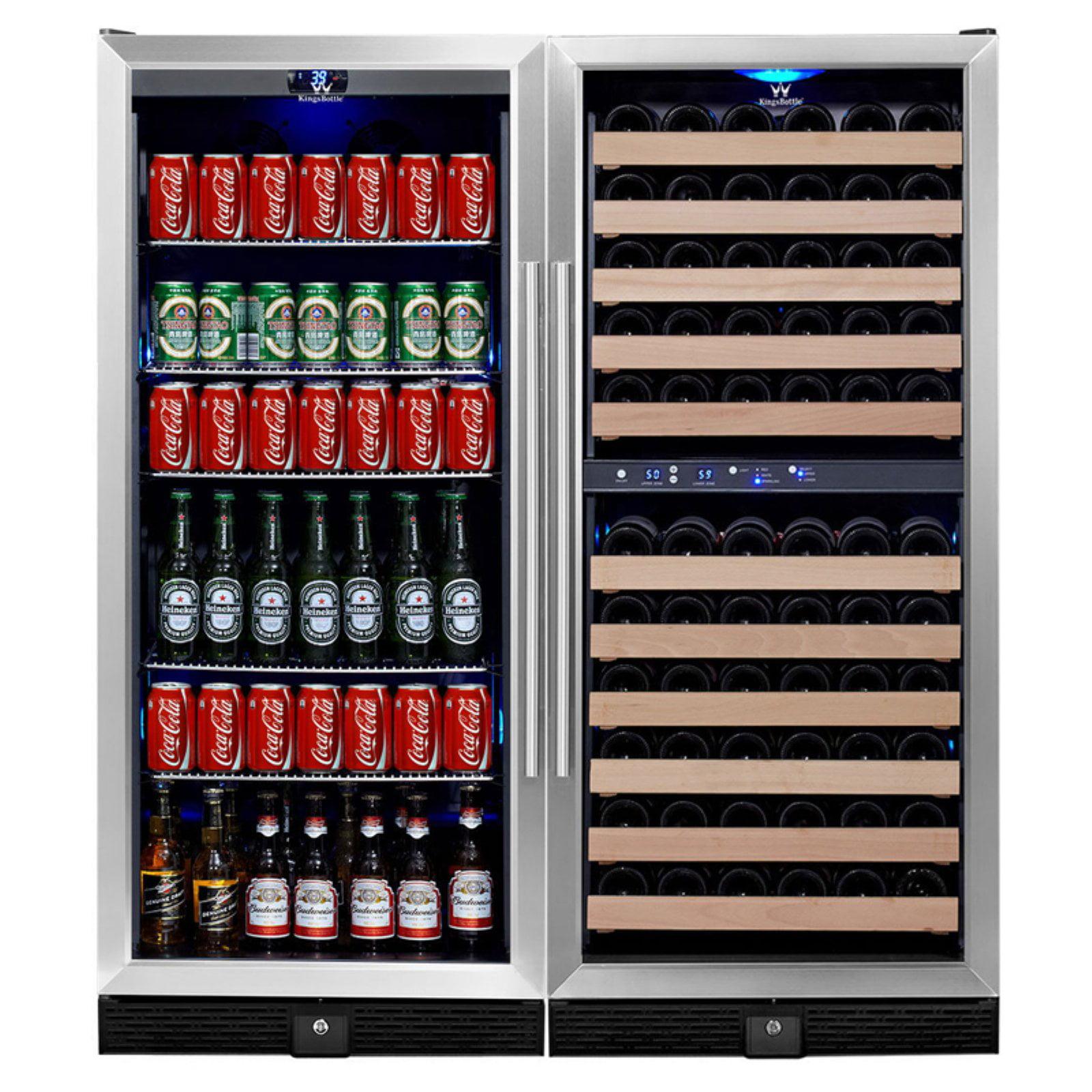 Kingsbottle 106-Wine 300-Beverage 3Temp Fridge
