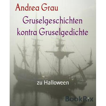 Gruselgeschichten kontra Gruselgedichte - eBook - Halloween Gruselgeschichten
