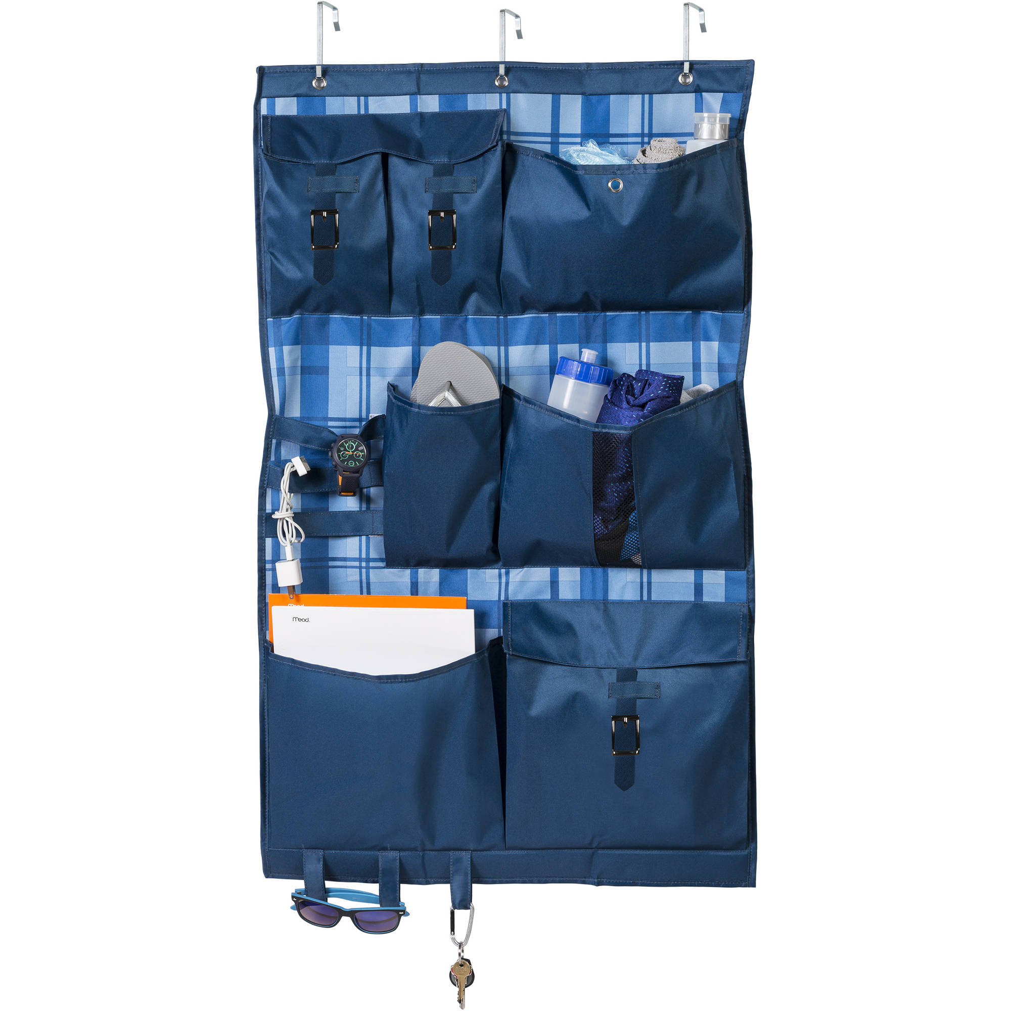 Honey Can Do Over The Door Pocket Organizer, Multiple Colors