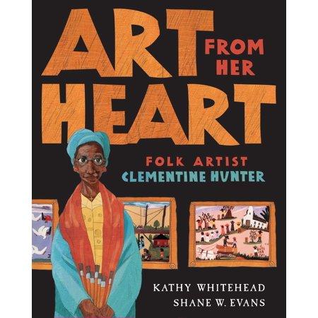 Flock Hearts (Art From Her Heart : Folk Artist Clementine)