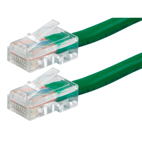 ZEROboot Series Cat6 24AWG UTP Ethernet Network Patch Cable, 50ft Green
