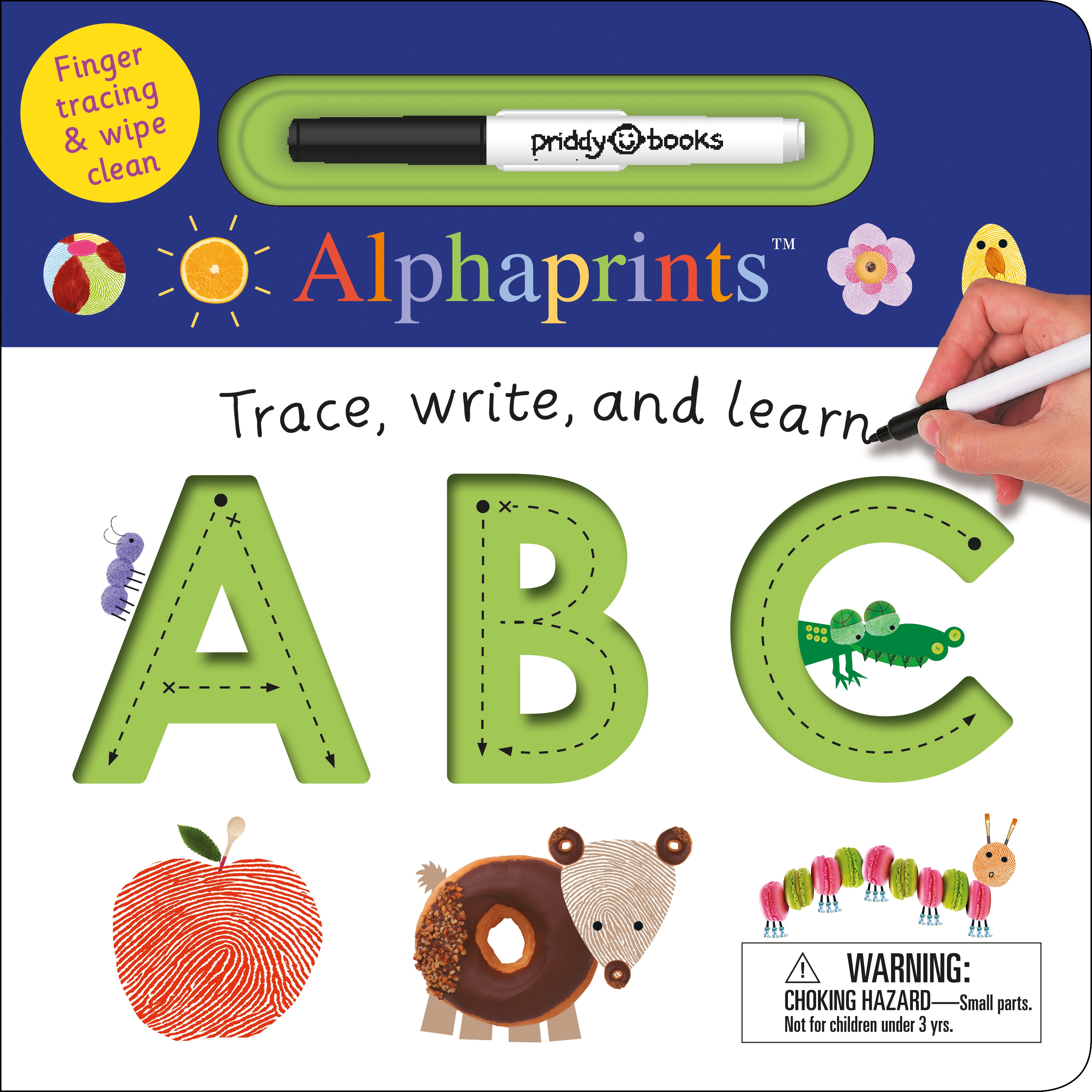 Trace Write and Learn ABC (Board Book)