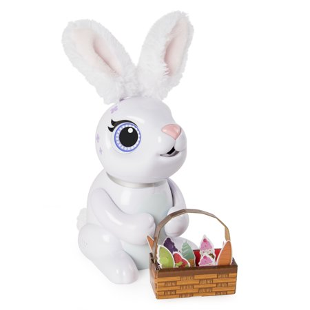 - Zoomer Hungry Bunnies, Chewy, Interactive Robotic Rabbit that Eats, for Ages 5 and Up