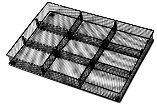 office drawer dividers. Interesting Office Custom Drawer Organizer Tray U2013 20 Adjustable Metal Mesh Dividers To Create  Storage Sections With Office