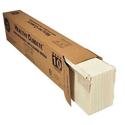 Lennox X0445 Merv 10 Filter For Pmac 20C   25 X 20 X 6   Genuine Lennox Product