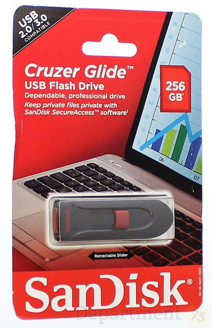 SanDisk Ultra CZ48 256GB USB 3.0 Flash Drive - SDCZ48-256G-AW4