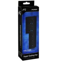 Playstation 4 Black USB Powered External 5 Fan Super Cooler
