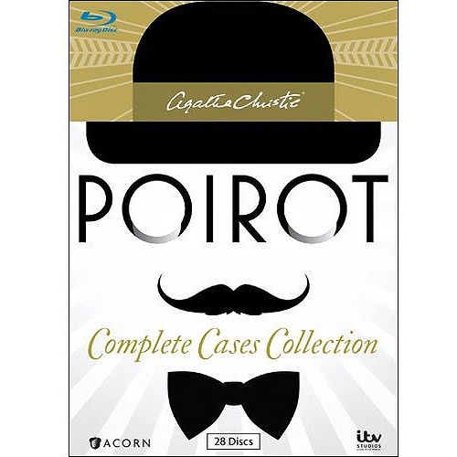 Agatha Christie's Poirot: Complete Cases Collection (Blu-ray) (Full Frame / Widescreen)