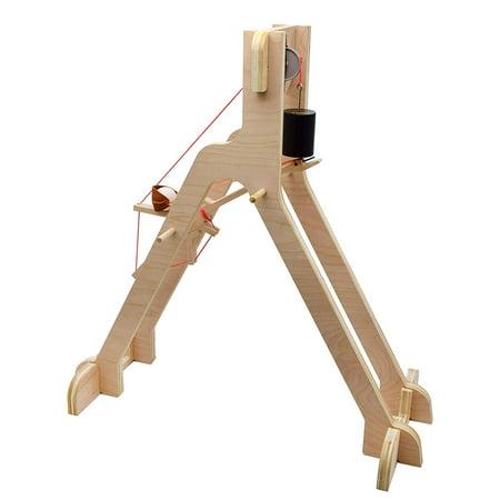 Garage Physics MURLIN Trebuchet Kit | DIY Multi-Radius Linear-Node Catapult