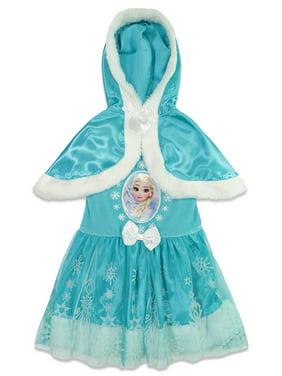 Disney Frozen Queen Elsa Infant Baby Girls Costume Cosplay Dress 12 Months