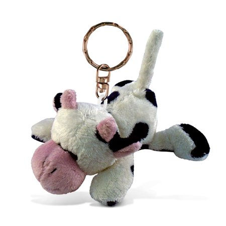 Plush Keychain - Cow - Plush Keychain Measures