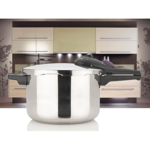 Splendid 6-Qt. Stainless Steel Pressure Cooker