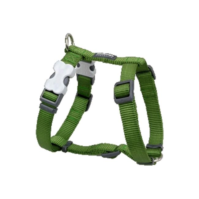 Red Dingo DH-ZZ-GR-XL Dog Harness Classic Green, XLarge