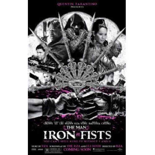 MAN WITH THE IRON FISTS (DVD) (ENG SDH/SPAN/FREN/WS/2.40:1)