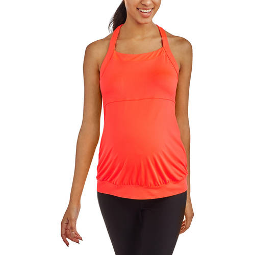Danskin Now Maternity Banded Bottom Tank